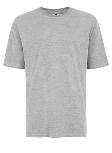 Topman Mens Grey Marl Gray Marl 90s Oversized T-shirt