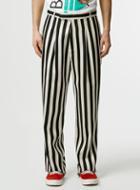 Topman Mens Multi Topman Design Mono Stripe Smart Pants