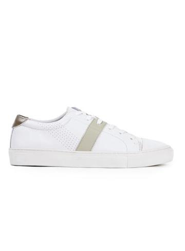 Topman Mens Topman Design White Leather Trainers