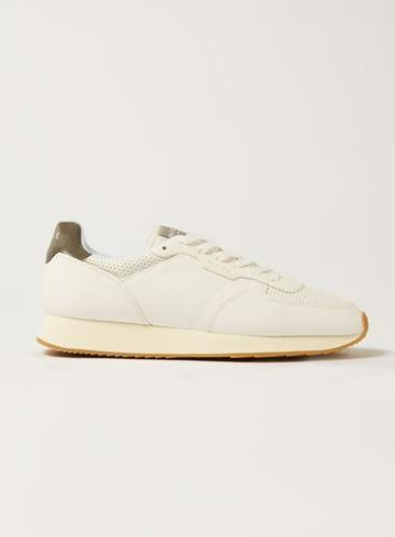 Topman Mens Nicce's White Leather Panacea Sneakers