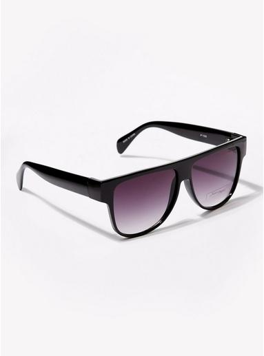 Topman Mens Jeepers Peepers Black Frame Pink Lens Sunglasses*