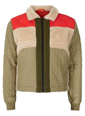Topman Mens Multi Topman Design Patched Harrington Jacket