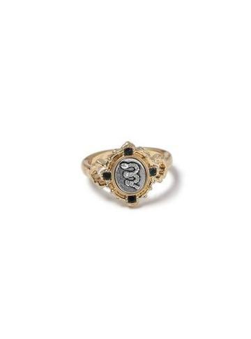 Topman Mens Multi Gold Snake Ring*
