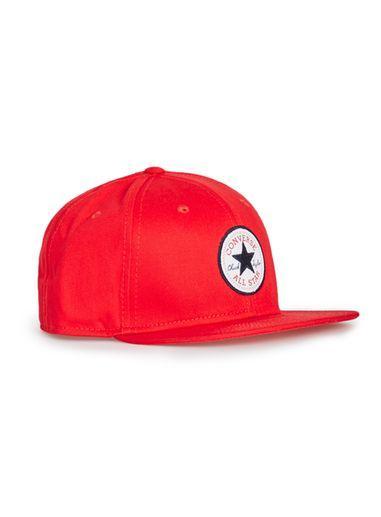 Topman Mens Converse Red Snapback Cap