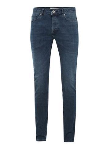 Topman Mens Mid Blue Wash Stretch Skinny Jeans