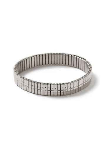 Topman Mens Silver Stain Steel Bracelet*