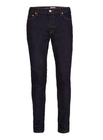 Topman Mens Blue Indigo Stretch Skinny Jeans