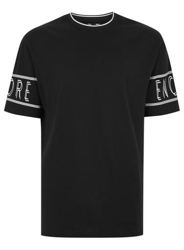 Topman Mens Black 'encore' T-shirt