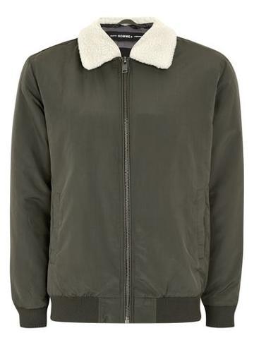 Topman Mens Selected Homme+ Khaki Jacket