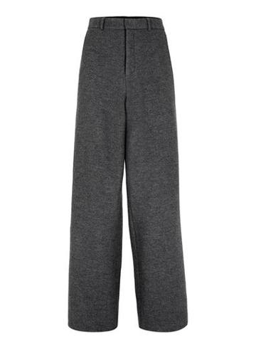 Topman Mens Topman Design Grey Wool Pants