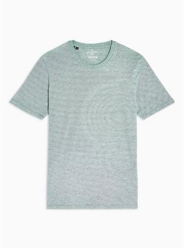 Selected Homme Mens Selected Homme Green T-shirt