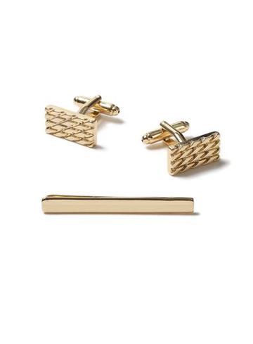 Topman Mens Gold Cufflink Set*
