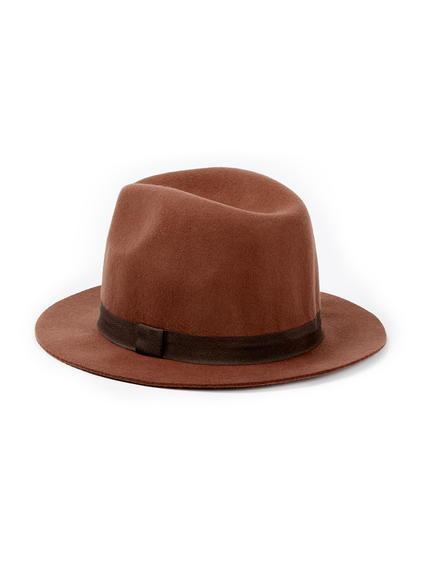 Topman Mens Red Rust High Crown Puritan Hat