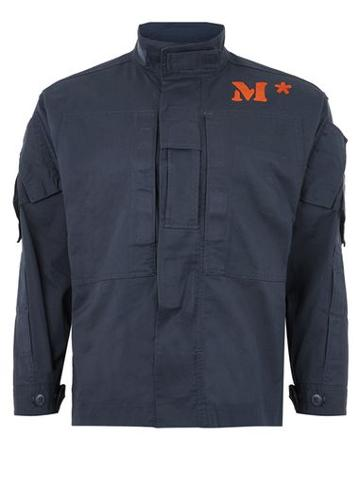Topman Mens Topman Finds M*s*h*d Navy 'nomex' Jacket