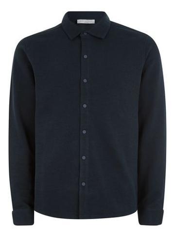 Topman Mens Selected Homme Navy Sweatshirt