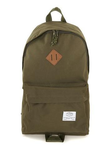 Topman Mens Brown Khaki Backpack