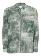 Topman Mens Ltd Khaki Preston Corduroy Overshirt