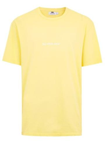 Topman Mens Yellow 'silverlake' Oversized T-shirt