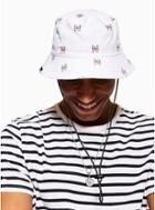 Nicce Mens Multi Nicce Red, White And Navy Bucket Hat