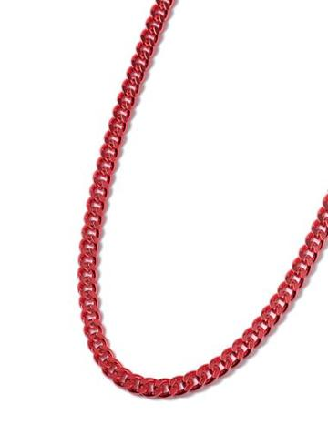 Topman Mens Red Chain Necklace*