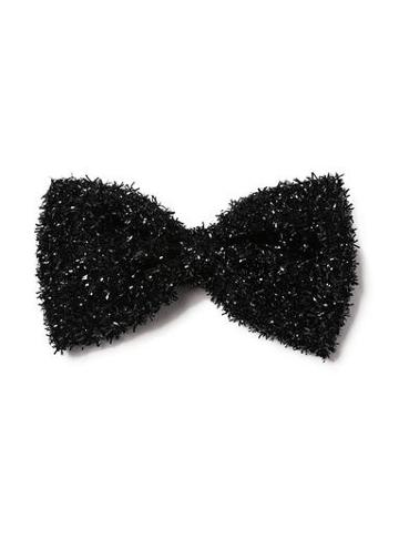 Topman Mens Blue Black Tinsel Bow Tie*