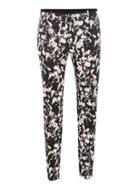 Topman Mens Multi Flower Print Ultra Skinny Suit Pants