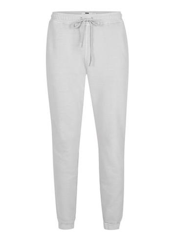 Topman Mens Grey Washed Light Gray Joggers