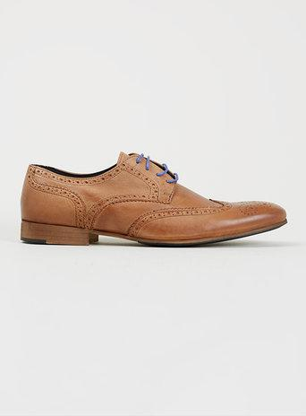 Topman Mens Dune Brown Gibson Shoes*