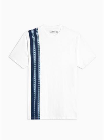 Topman Mens Multi Chain Print T-shirt