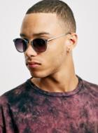 Topman Mens Jeepers Peepers Hugo Grey Sunglasses*