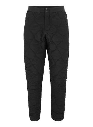 Topman Mens Topman Design Black Quilted Joggers
