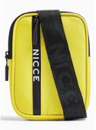Topman Mens Yellow Pouch Cross Body Bag