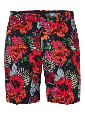 Topman Mens Multi Floral Printed Shorts With Side Taping