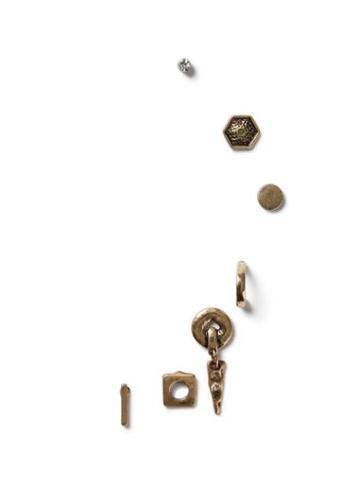 Topman Mens Gold Look Hoop Earrings Multipack*