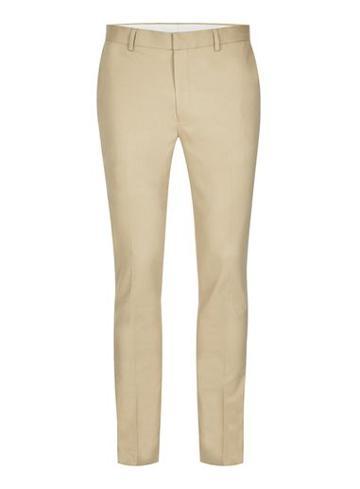 Topman Mens Stone Twill Ultra Skinny Fit Dress Pants