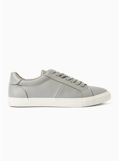 Topman Mens Grey 'henri' Lace Trainers