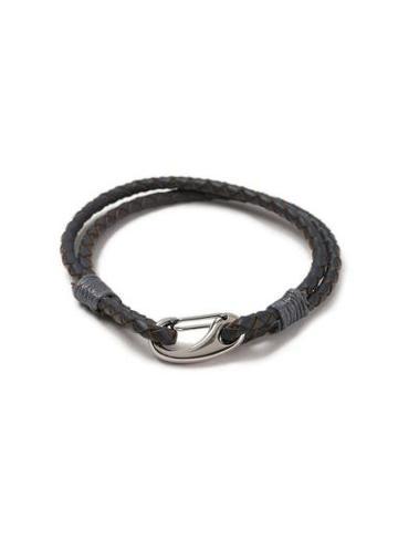 Topman Mens Grey Wrap Bracelet*