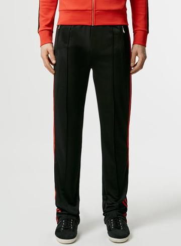 Topman Mens Topman Design Black Tracksuit Pants