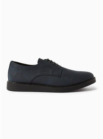 Topman Mens Navy 'chant' Derby Shoes