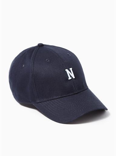 Topman Mens Navy 'n' Curve Peak Cap