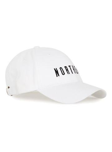 Topman Mens Topman Design White Northern Cap