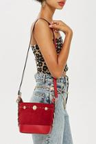 Topshop Stud Bucket Bag