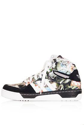 Topshop **mattitude High Top Sneakers By Topshop X Adidas Originals