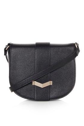 Topshop Smart Saddle Bag