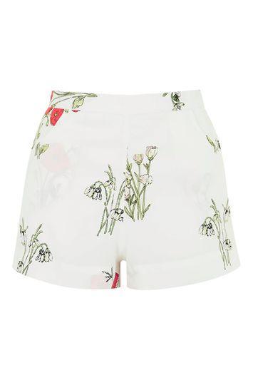 Topshop Printed Pyjama Shorts
