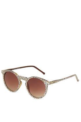 Topshop Lila Round Sunglasses