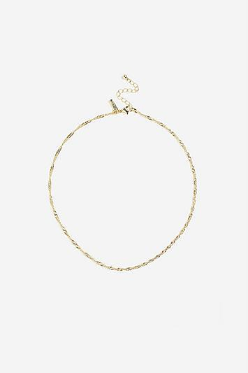 Topshop Twisted Chain Necklace