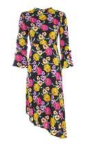 Topshop Bold Floral Midi Dress