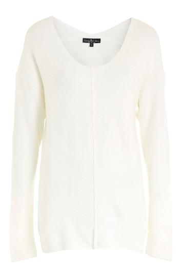 Topshop Tall Stretch V-neck Jumper