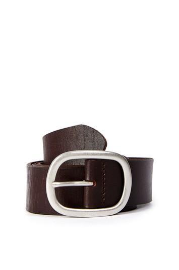 Topshop Oval Leather Belt